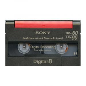 Digital-8 cassettes digitaliseren