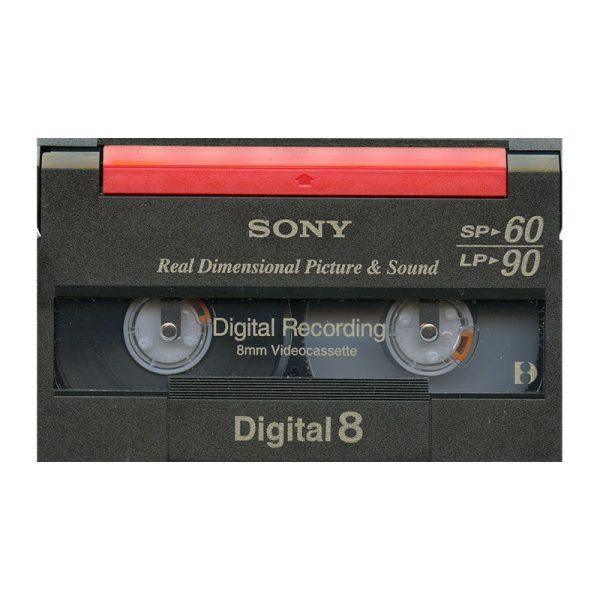 Digital-8 cassettes digitaliseren